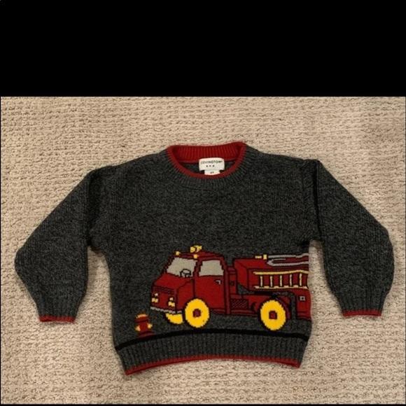 Fire Truck Sweater 2T